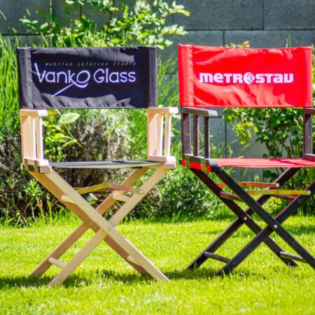 Metrostav a Vanko Glass - režisérske stoličky