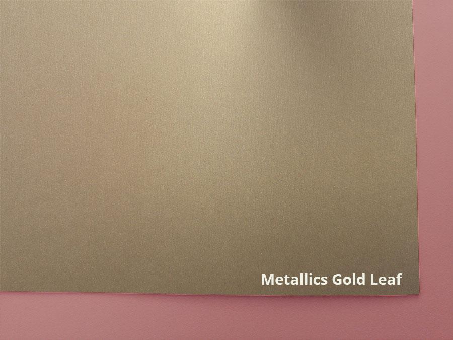 metalics gold leaf