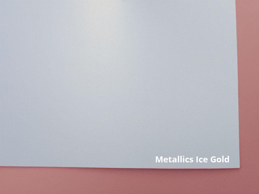 mettalics ice gold