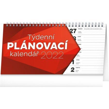 Stolový kalendár Plánovací riadkový SK 2022